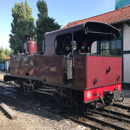 Le Crotoy, Frankrike: Petit train de la baie de la Somme