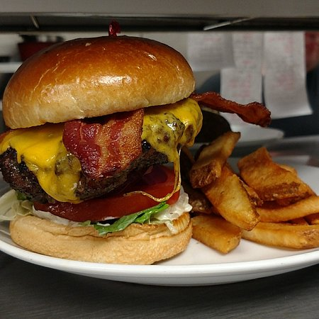 Plank Road Steak House: We even have delicious burgers.