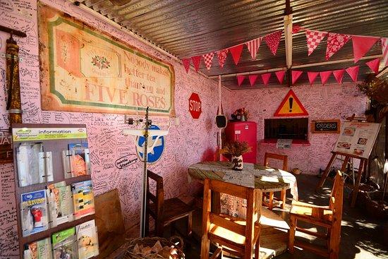 Kakamas, South Africa: Fascinating restaurant space