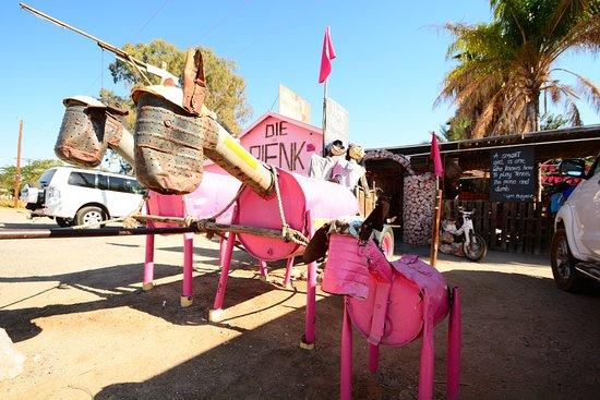 Kakamas, South Africa: Outside welcome