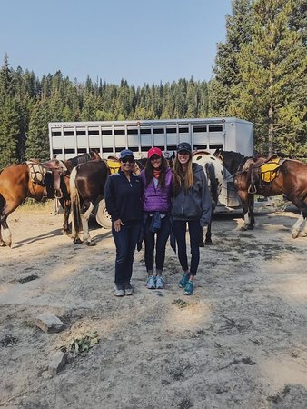 Alpine, WY: Loved our horses