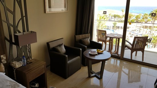 Deluxe Wing Sea View Room Picture Of Adams Beach Hotel Ayia Napa
