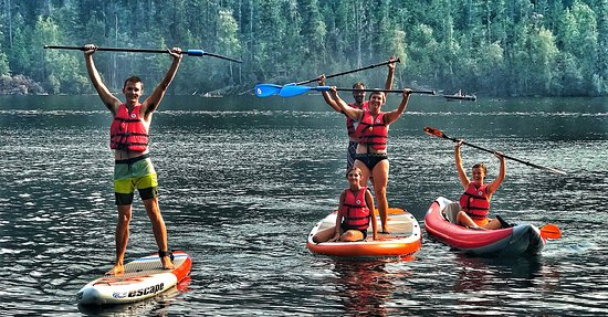 Kamloops, Canadá: We rent premium quality SUP boards and kayaks!