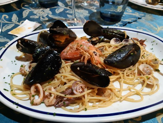 Pieve Ligure, Италия: spaghetti allo scoglio