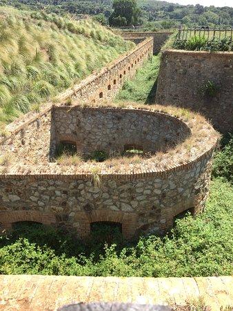 Scilla, Italia: Particolare del Fortino Poggio Pignatelli