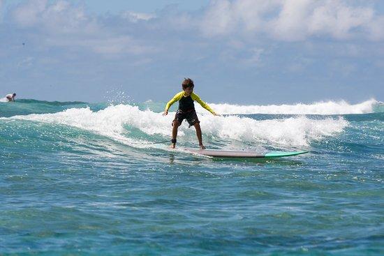 Uncle Bryan's Sunset Suratt Surf School: North Shore fun!