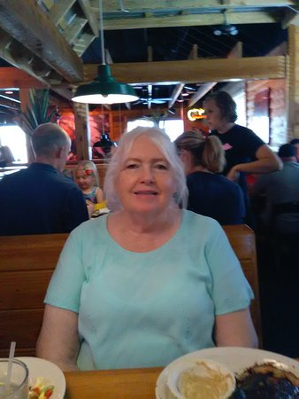 At the Texas Roadhouse in Taylorsville, UT