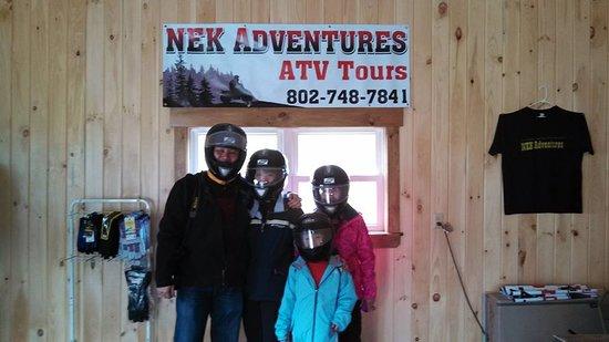 Saint Johnsbury, VT: Snowmobile tour