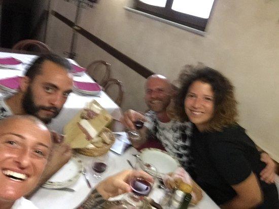 Bardineto, Italy: Cena top