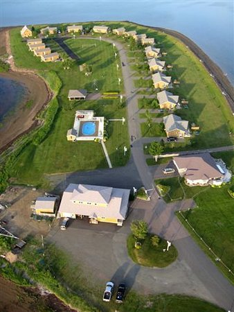 Richibucto, Canada: Aerial View