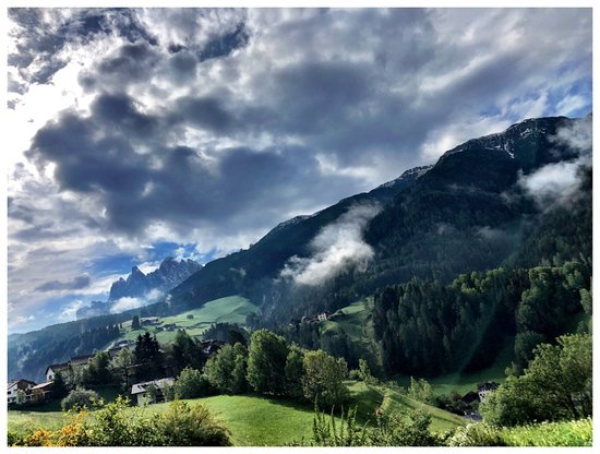 Funes, Italie : View from apartment
