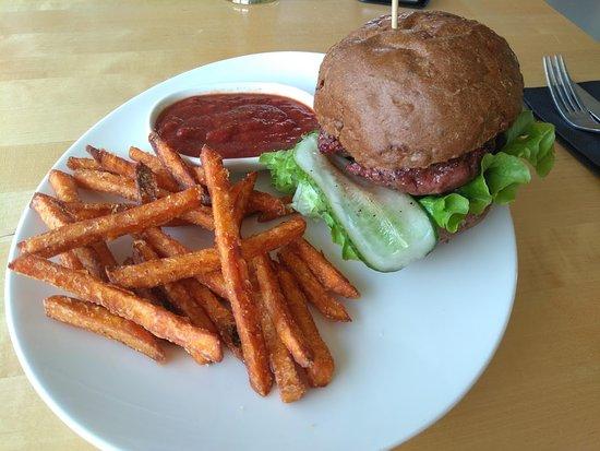 Kassari, Estonia: burger