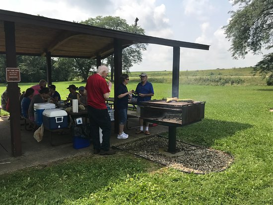 Lake Mills, WI: A picnic by Friends of Aztalan