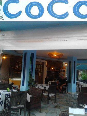 Coco Cafe Restaurant: Coco restaurant Petra Lesvos