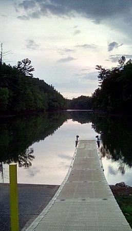 Bassett, VA: Boat dock