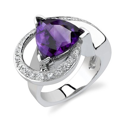 Fountain Hills, AZ: Arizona Amethyst is one of our featured gemstones in our Amnerican Gem Colelction.