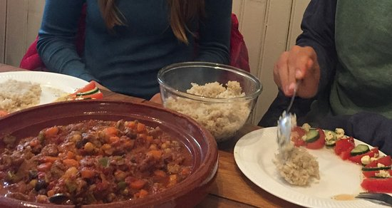 Thingeyri, Iceland: Delicious Lamb Tagine