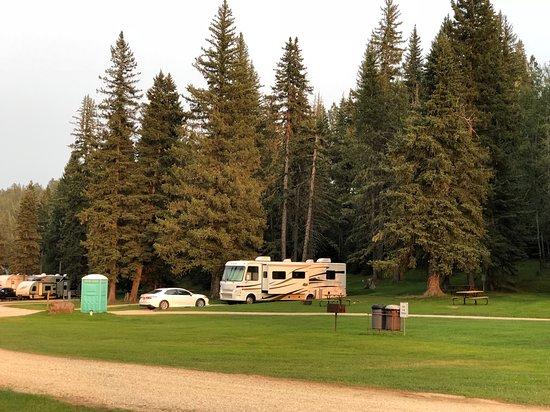 Hidden Valley Campground : our campsite