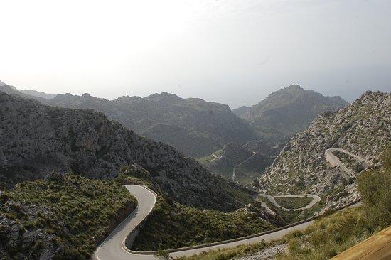 Sa Calobra, Spain: Carretera a Torrent de Pareis