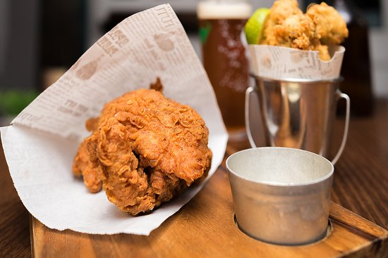 Southern Fried Chicken And Jalapeno Poppers Picture Of Ball