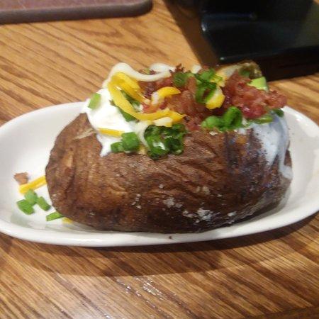 Norwalk, CA: Side baked potato