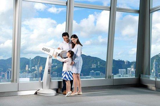 Entrada al mirador Sky100 Hong Kong