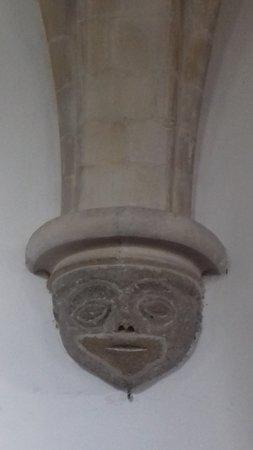 Sompting, UK: Ancient Face
