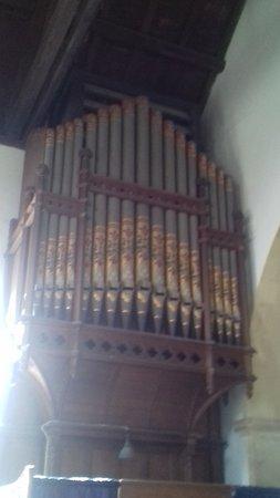 Sompting, UK: The Organ