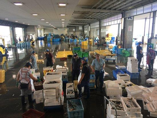 Chiho Oroshiuri Shijo Himi Fish Market