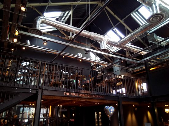 Love Lane Brewery Bar and Kitchen: Mezzanine