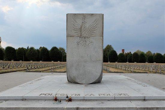 Zgorzelec, Polen: Military cemetery