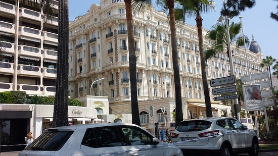 Cannes and the Cinema Guided Tour: Lovely Carlton!