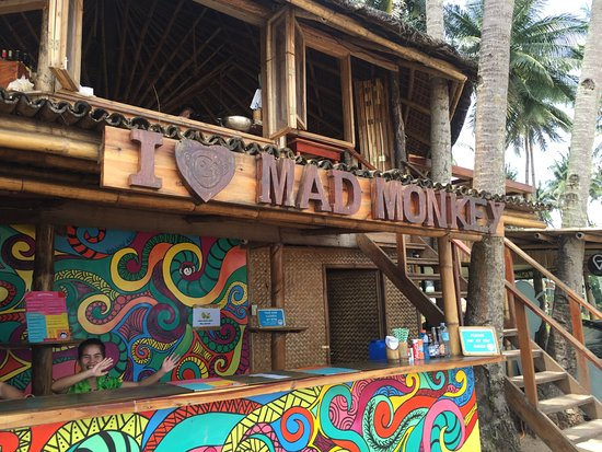 Shows Mad Monkey Hostel on Nacpan beach - Nacpan Beach nightlife