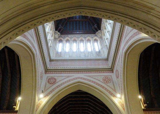 Whippingham, UK: St Mildred's Church - roof