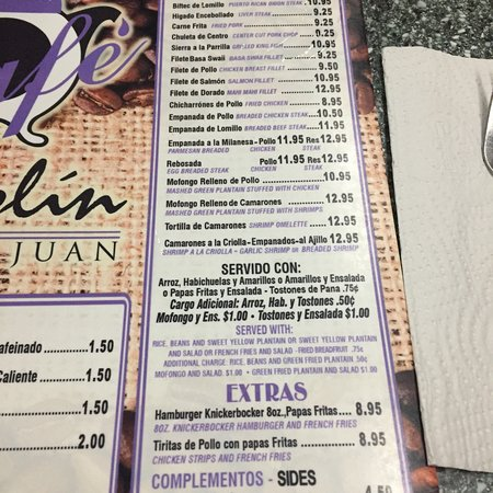 Cafe Manolin Old San Juan: photo8.jpg