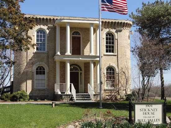 Woodstock, IL: Stickney House, Bull Valley, IL