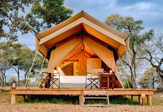 Hectorspruit, Южная Африка: Authentic Safari Tents
