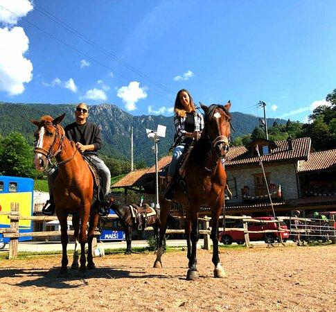 Strigno, Italia: Escursione a cavallo
