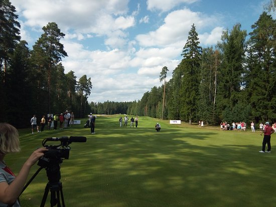 Nakhabino, Russia: Финал чемпионата по гольфу VTB Russian Open Golf Championship (Senior)