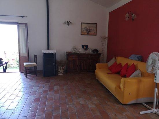 Abbadia di Montepulciano, Italie : saloncino