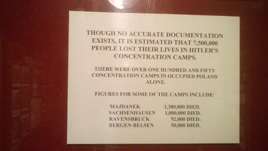 Eden Camp Modern History Theme Museum: Holocaust