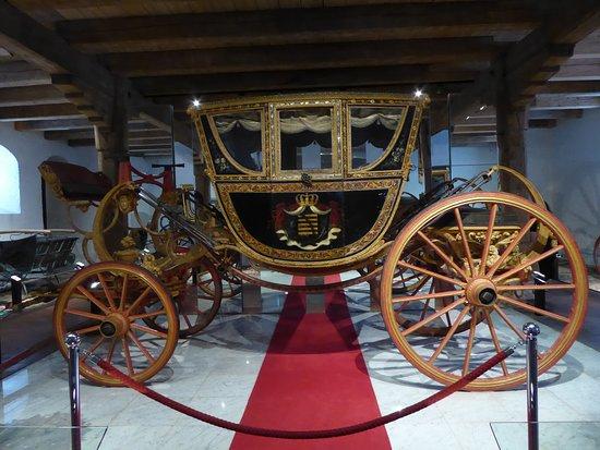 Augustusburg, Jerman: im Kutschenmuseum