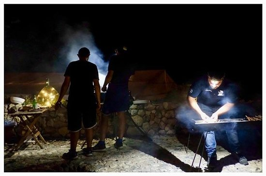 Province of L'Aquila, Italie : BBQ by night