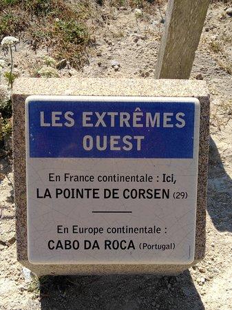 Plouarzel, Francja: Estremo ovest!