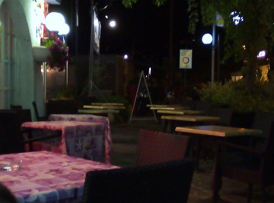 La Bussola: Vista dal ns. tavolo
