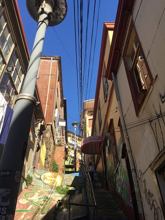 เซอร์โซกองเซ็ปซิอง: Un pasaje muy típico del cerro Concepción