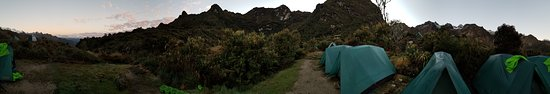 Alpaca Expeditions: Not a bad place to set-up camp for the night.