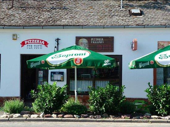 Pecsvarad, ฮังการี: il ristorante