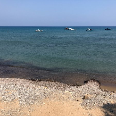 Avdimou, Cyprus: Melanda Beach Restaurant