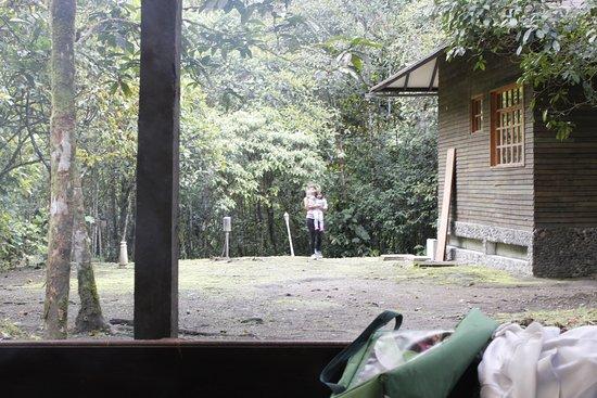 Zamora, Ecuador: refugio Guardaparques